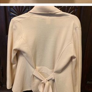 Bang wool wrap sweater